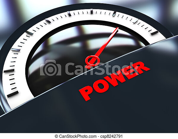 power meter - csp8242791