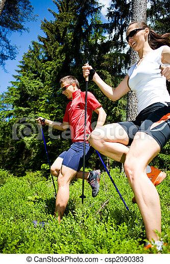 power nordic walking - csp2090383