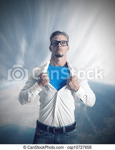 Power of a businessman - csp10727658