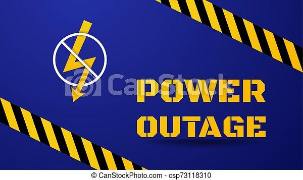 Power Outage Clipart - Lizenzfrei - GoGraph