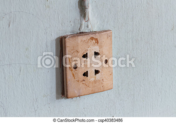 Power Outlet - csp40383486