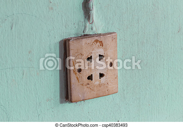 Power Outlet - csp40383493