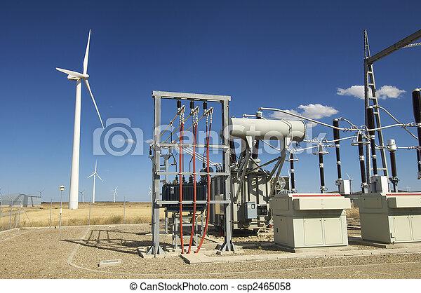 power plant - csp2465058