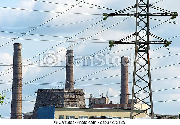 Power plant - csp37273129