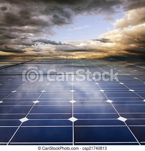 Power plant using renewable solar energy - csp21740813