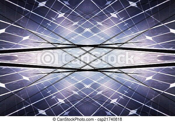 Power plant using renewable solar energy - csp21740818
