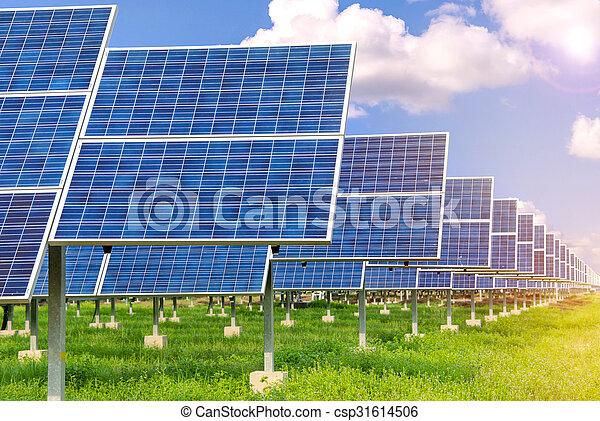 Power plant using renewable solar energy - csp31614506