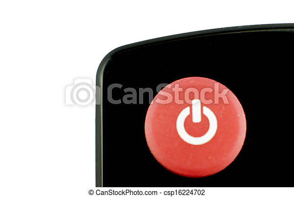 power round red glossy icon on white background - csp16224702