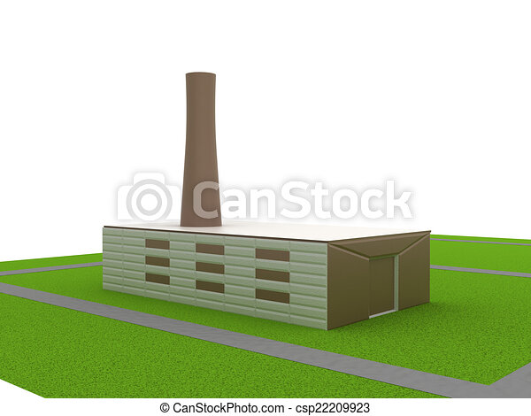 Power station - csp22209923