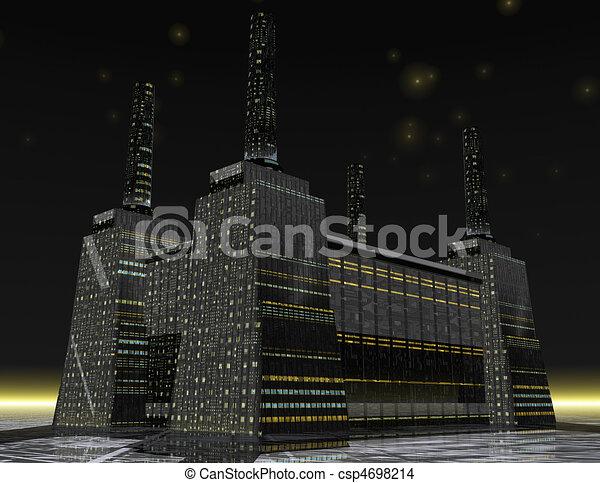 power station - csp4698214