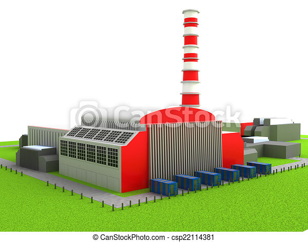 Power station - csp22114381