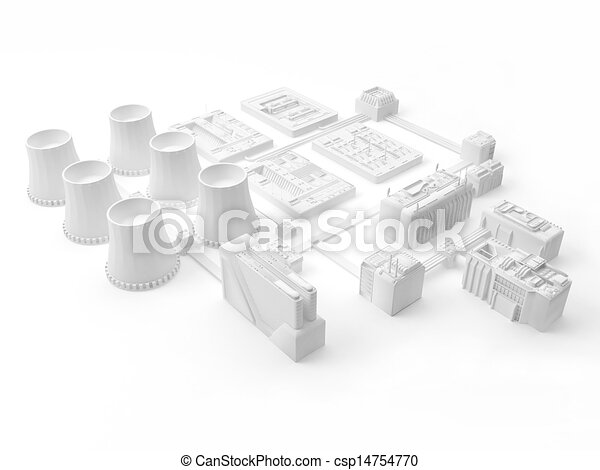 Power station - csp14754770
