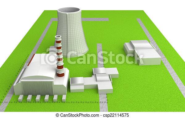 Power station - csp22114575