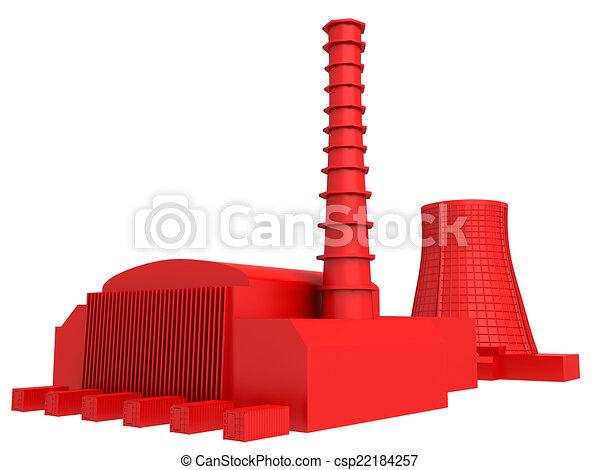 Power station - csp22184257