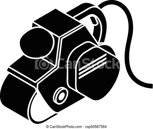power tool icon simple style power tool icon simple clip art rh canstockphoto com free powerpoint clipart power clipart black and white