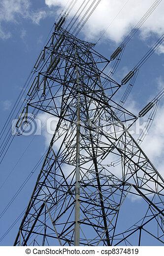 Power Tower - csp8374819
