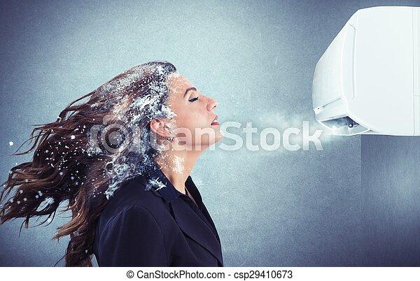 Powerful air conditioner - csp29410673