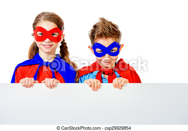 powerful kids - csp29929854