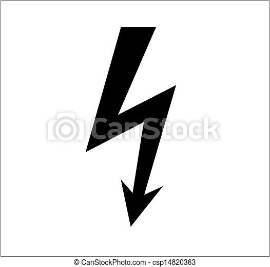 icon lighting. Powerful Lighting Symbol - Csp14820363 Icon 2