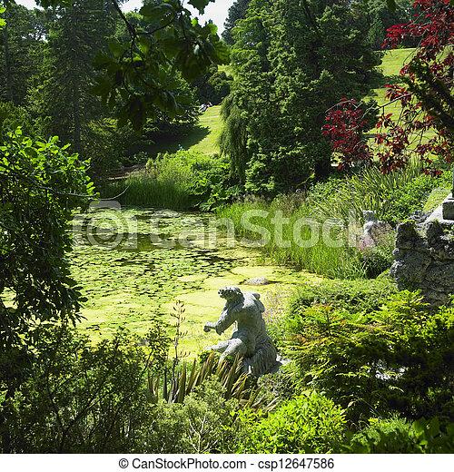Powerscourt gardens, county wicklow, ireland pictures - Search ...