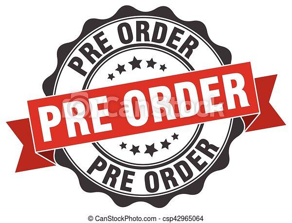 pré, signe., stamp., ordre, cachet - csp42965064