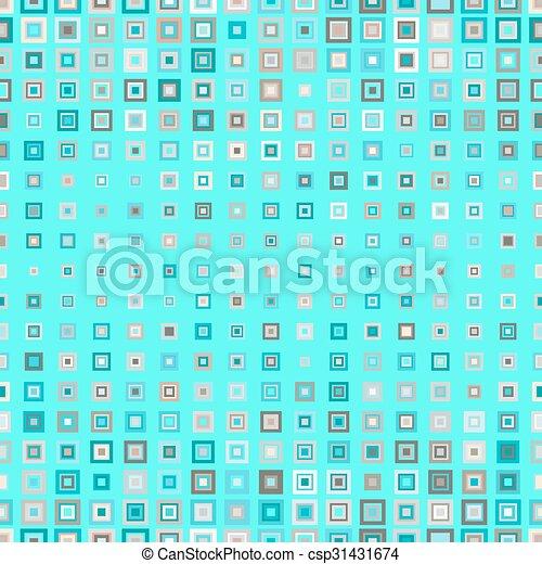 próbka, kwadraty, seamless - csp31431674