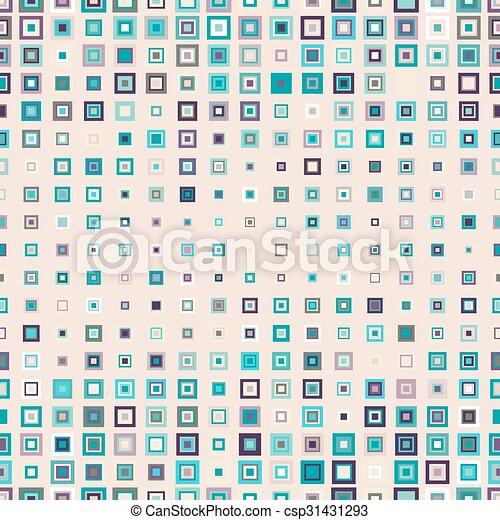 próbka, kwadraty, seamless - csp31431293