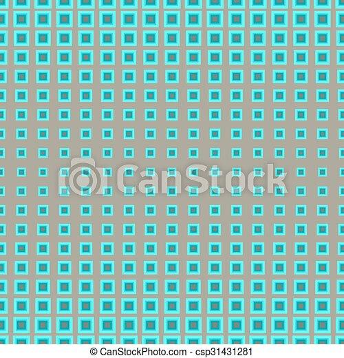 próbka, kwadraty, seamless - csp31431281