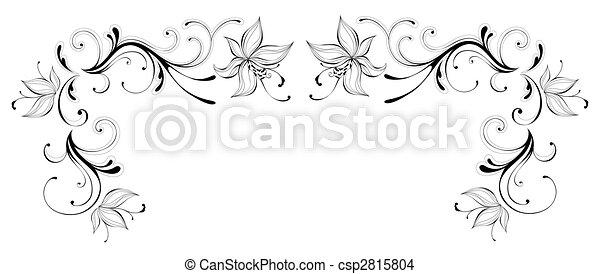 próbka, kwiat - csp2815804
