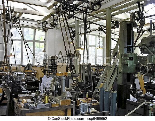 průmyslový, dávný, provozní - csp6499652