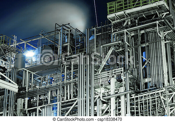 průmyslový, komplikovaný - csp18338470