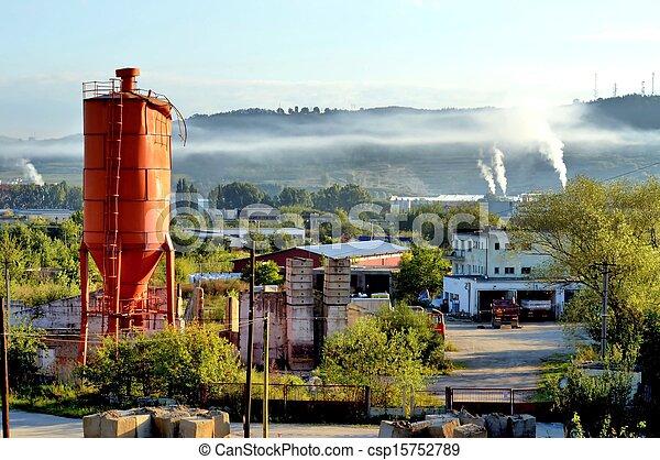 průmyslový, krajina - csp15752789