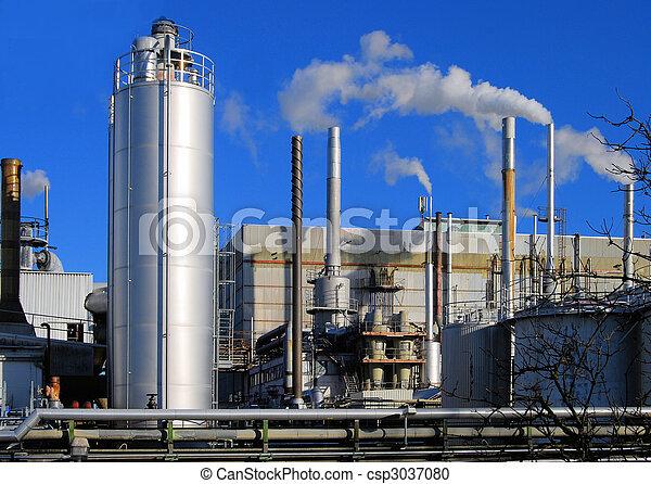 průmyslový poloha - csp3037080