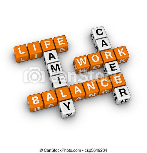 praca, życie, waga - csp5649284