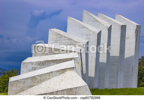 pracownicy, serbia, wojownicy, kadinjaca, pomnik, batalion - csp60782996