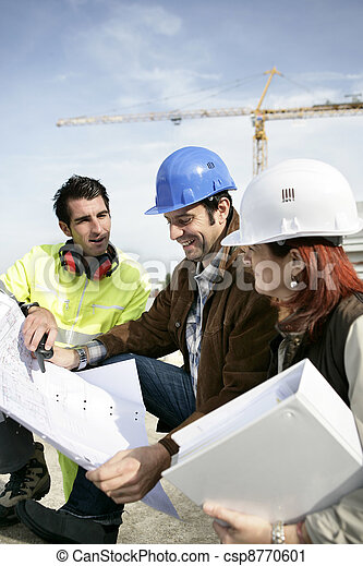 pracownicy, zbudowanie - csp8770601