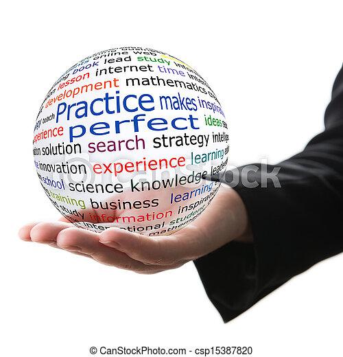 Practice makes perfect - csp15387820
