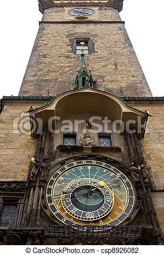 Prague Astronomical Clock, Czech Republic - csp8926082
