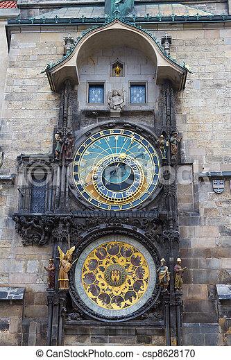 Prague Astronomical Clock, Czech Republic - csp8628170
