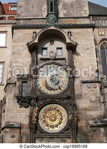 Prague astronomical clock - csp16995169