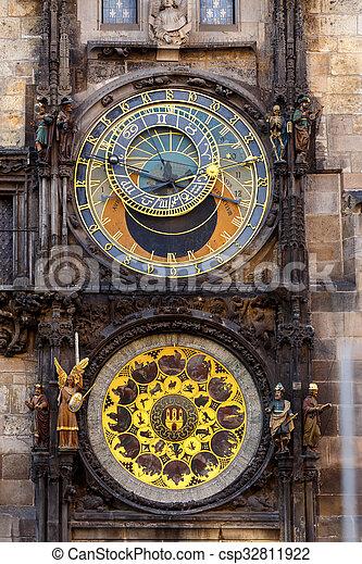 Prague astronomical clock - csp32811922