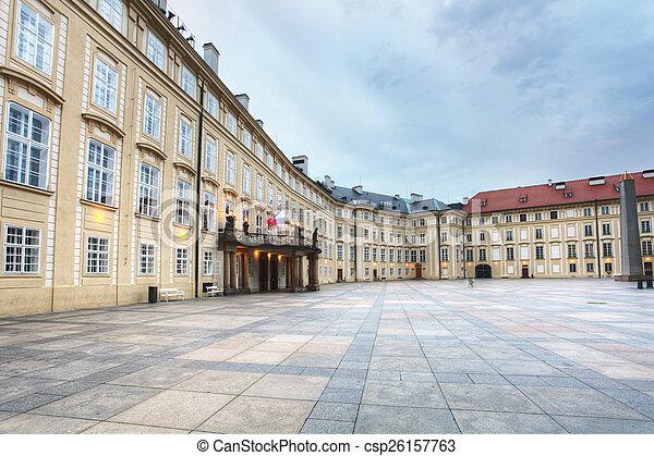 Prague castle indoor - csp26157763