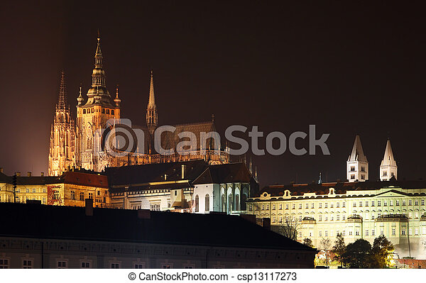 Prague castle - csp13117273