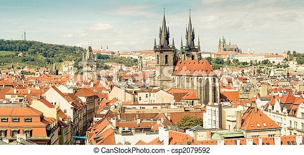 Prague, Czech Republic - csp2079592