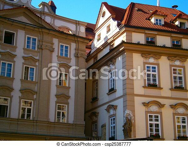 Prague's historic home - csp25387777