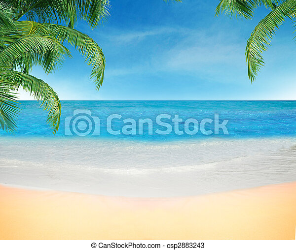 praia - csp2883243