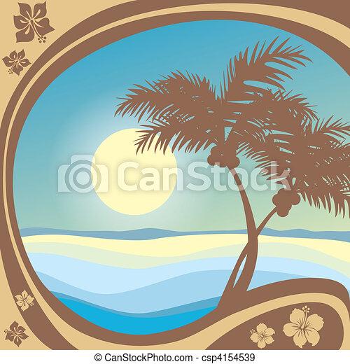 praia - csp4154539