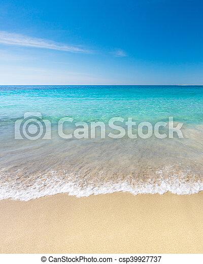praia, paraisos  - csp39927737