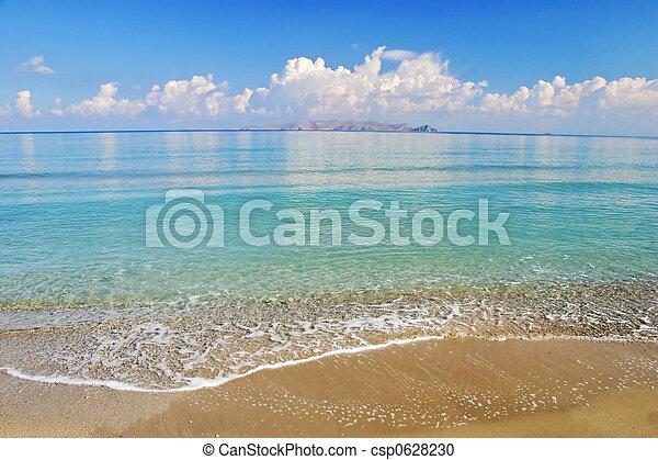 praia tropical - csp0628230