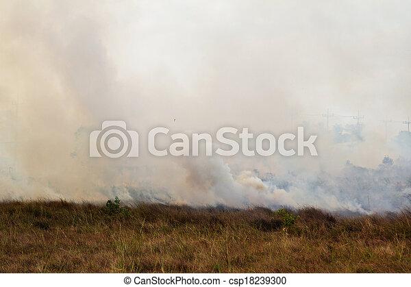 prairie fire  - csp18239300